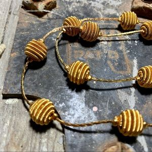 Bauble necklace by Trifari!